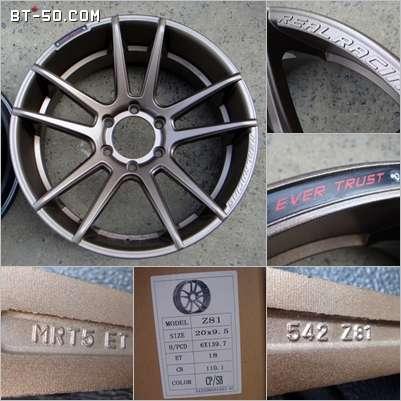 คลับ BT-50-Ranger-ขายแม็กยางใหม่ CE28,TE37,MRII,ZR6,WELD,GT ขอบ 18,19,20,22