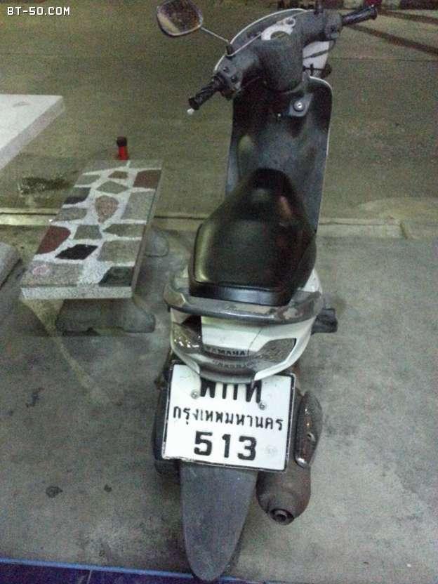 คลับ BT-50-Ranger-(ปิดการขาย ขายไปแล้วครับ) Yamaha Mio สีขาว ราคา 7000 บาท-4