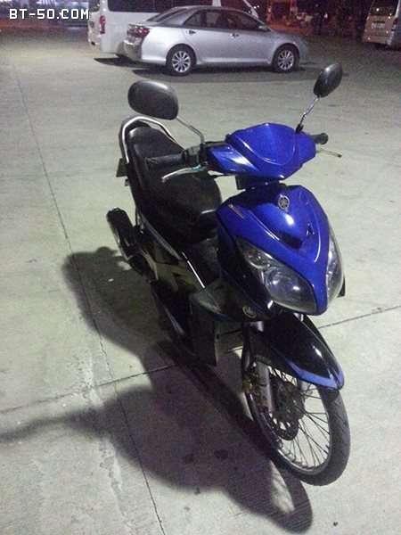 คลับ BT-50-Ranger-(ปิดการขาย ขายไปแล้วครับ) Yamaha NOUVO MX สี น้ำเงิน-ดำ ราคา 12900 บาท-2