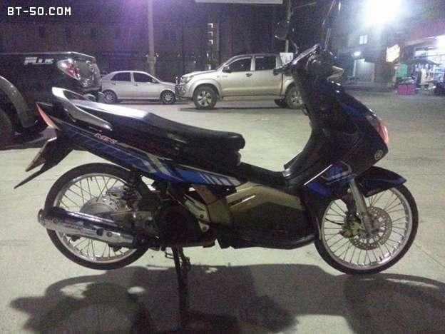 คลับ BT-50-Ranger-(ปิดการขาย ขายไปแล้วครับ) Yamaha NOUVO MX สี น้ำเงิน-ดำ ราคา 12900 บาท-4