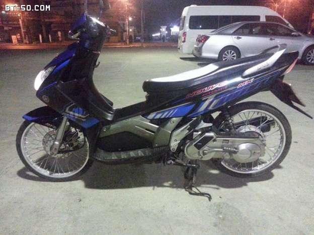 คลับ BT-50-Ranger-(ปิดการขาย ขายไปแล้วครับ) Yamaha NOUVO MX สี น้ำเงิน-ดำ ราคา 12900 บาท-5