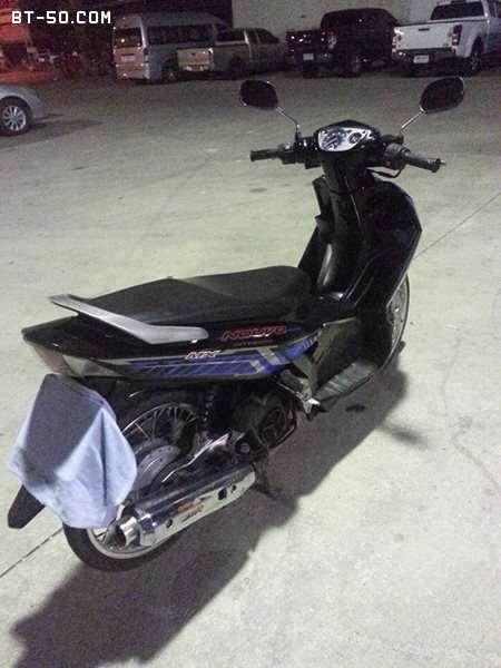 คลับ BT-50-Ranger-(ปิดการขาย ขายไปแล้วครับ) Yamaha NOUVO MX สี น้ำเงิน-ดำ ราคา 12900 บาท-6