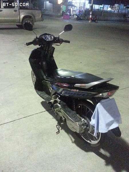 คลับ BT-50-Ranger-(ปิดการขาย ขายไปแล้วครับ) Yamaha NOUVO MX สี น้ำเงิน-ดำ ราคา 12900 บาท-7