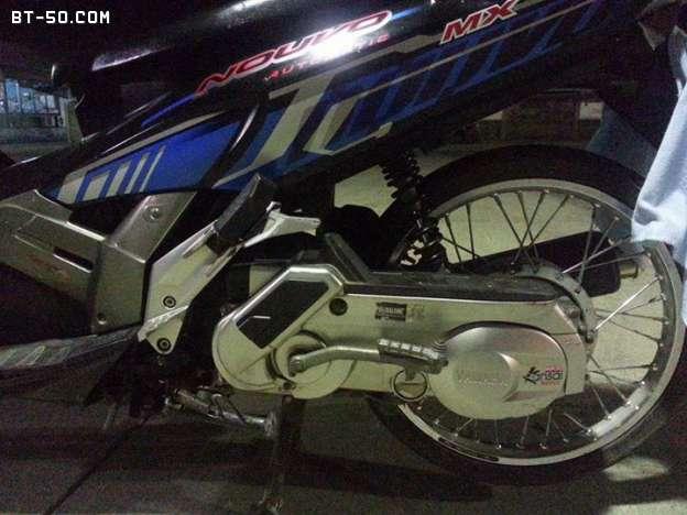 คลับ BT-50-Ranger-(ปิดการขาย ขายไปแล้วครับ) Yamaha NOUVO MX สี น้ำเงิน-ดำ ราคา 12900 บาท-10