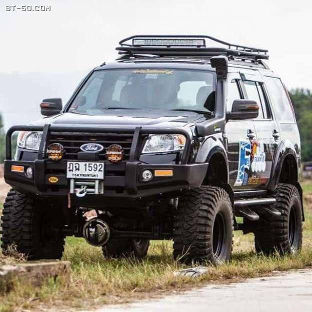 คลับ BT-50-Ranger-พาเจ้าอ้วนดำมาทักทายครับ-1